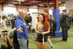 Coach telling Amy...any more medals and you're off.jpg