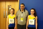 Lydia and Esme with top Olympic coach