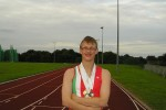 Special Olympian James Tyler